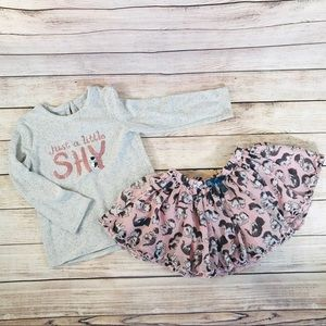 Girls outfit 4t. Like new. Super cute!